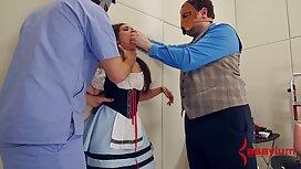 Il datore di lavoro ha intervistato Khokhlushka fabbrica video casalinghi mogli